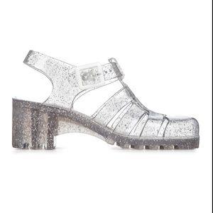 JuJu Shoes Babe Multi Glitter
